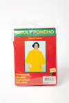 Adult poncho, red.