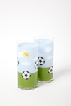 Inspiration football-themed tumblers.